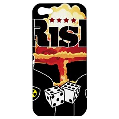 Nuclear Explosion Trump And Kim Jong Apple Iphone 5 Hardshell Case by Valentinaart