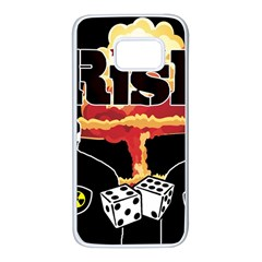 Nuclear Explosion Trump And Kim Jong Samsung Galaxy S7 White Seamless Case