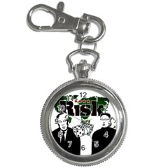 Nuclear Explosion Trump And Kim Jong Key Chain Watches by Valentinaart