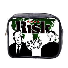 Nuclear Explosion Trump And Kim Jong Mini Toiletries Bag 2 Side by Valentinaart