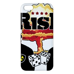 Nuclear Explosion Trump And Kim Jong Apple Iphone 5 Premium Hardshell Case by Valentinaart