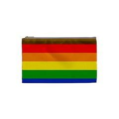 Philadelphia Pride Flag Cosmetic Bag (small)  by Valentinaart