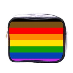 Philadelphia Pride Flag Mini Toiletries Bags by Valentinaart