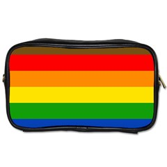 Philadelphia Pride Flag Toiletries Bags 2 Side by Valentinaart