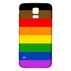 Philadelphia Pride Flag Samsung Galaxy S5 Back Case (white) by Valentinaart