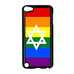 Gay Pride Israel Flag Apple Ipod Touch 5 Case (black) by Valentinaart