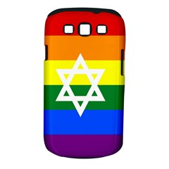 Gay Pride Israel Flag Samsung Galaxy S Iii Classic Hardshell Case (pc+silicone) by Valentinaart