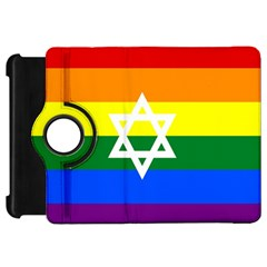 Gay Pride Israel Flag Kindle Fire Hd 7  by Valentinaart