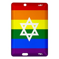 Gay Pride Israel Flag Amazon Kindle Fire Hd (2013) Hardshell Case by Valentinaart