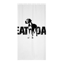 Great Dane Shower Curtain 36  X 72  (stall)  by Valentinaart