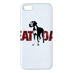 Great Dane Apple Iphone 5 Premium Hardshell Case by Valentinaart