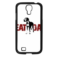 Great Dane Samsung Galaxy S4 I9500/ I9505 Case (black) by Valentinaart