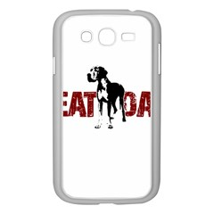 Great Dane Samsung Galaxy Grand Duos I9082 Case (white) by Valentinaart