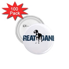 Great Dane 1 75  Buttons (100 Pack)  by Valentinaart