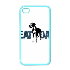 Great Dane Apple Iphone 4 Case (color) by Valentinaart