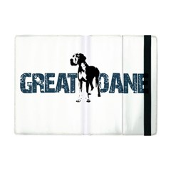 Great Dane Apple Ipad Mini Flip Case by Valentinaart