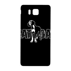 Great Dane Samsung Galaxy Alpha Hardshell Back Case by Valentinaart