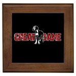 Great Dane Framed Tiles