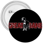 Great Dane 3  Buttons