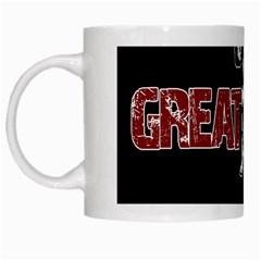 Great Dane White Mugs