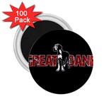 Great Dane 2.25  Magnets (100 pack)