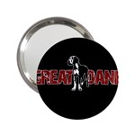 Great Dane 2.25  Handbag Mirrors