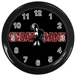 Great Dane Wall Clocks (Black)