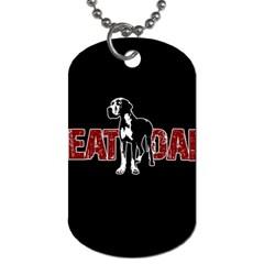 Great Dane Dog Tag (One Side)