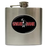 Great Dane Hip Flask (6 oz)