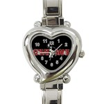 Great Dane Heart Italian Charm Watch