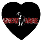 Great Dane Jigsaw Puzzle (Heart)