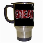 Great Dane Travel Mugs (White)