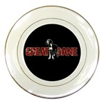 Great Dane Porcelain Plates