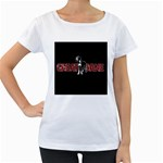 Great Dane Women s Loose-Fit T-Shirt (White)