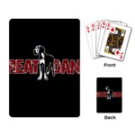 Great Dane Playing Card