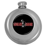 Great Dane Round Hip Flask (5 oz)