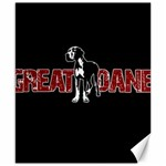 Great Dane Canvas 8  x 10