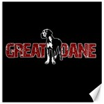 Great Dane Canvas 12  x 12