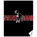 Great Dane Canvas 16  x 20