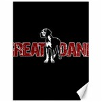 Great Dane Canvas 18  x 24
