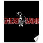 Great Dane Canvas 20  x 24