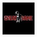 Great Dane Medium Glasses Cloth
