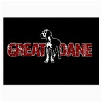 Great Dane Large Glasses Cloth