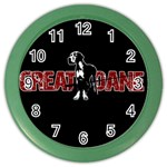 Great Dane Color Wall Clocks