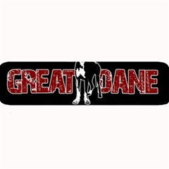 Great Dane Large Bar Mats by Valentinaart