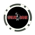 Great Dane Poker Chip Card Guard