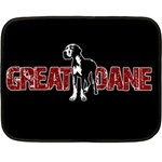 Great Dane Double Sided Fleece Blanket (Mini)