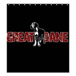 Great Dane Shower Curtain 66  x 72  (Large)