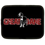 Great Dane Netbook Case (XXL)