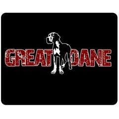 Great Dane Fleece Blanket (Medium)